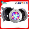 Stainless Steel 304 Tempered Glass LED Underwater Light for Swimming Pool