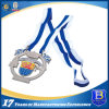 Custom Design Promotional Soft Enamel Medal with Cut-out