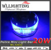 Round 240 LED Police Mini Light Bar