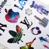 Colorful Die-Cut Sticker (KG-PT009)