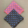 Wholesale Mens Custom Print 100% Silk Pocket Squares