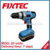 Fixtec Power Tool 2 Speed 18V 1300mAh Battery Cordless Driver Drill with LED Light