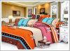 Whole Seles Bedding Sets T/C 65/35 Microfiber Lace Sheet Sets