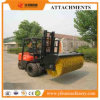 Forklift Attachment Hydraulic Driven Angle Sweeper Broom Attachment for Forklift