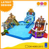 Thriller Twisted Slide Inflatable Water Pool (AQ01778-6)