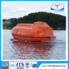 Fiberglass Marine Partially Enclosed Lifeboat Free Fall Life Boat with Solas Approval for 22-130 Persoin