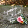 New Fashion Wedding Lobby Sign Stands Sliding Holder