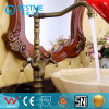 Classical Dual Lever Brass Basin Mixer with Antique Finish (BM-A10301K)