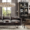 European Luxury Big Circle crystal Egyptian Crystal Chandelier