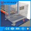 Heavy Duty Galvanized Wire Mesh Container for Industrial Storage