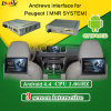 Newest Quad-Core Car Mrn System Android Navigation Reverse System for Peugeot 2008 / 208 / 408 / 508 Support Apps Download