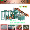 New Model Qt4-20 Hydraulic Automatic Block Making Machine