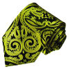 New Fashion Gold Paisely Design Men′s Woven Silk Neckties