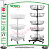 Four Sides Rotating Spinner Display Stand for Retailing