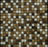 Mixed Color Natural Stone Marble Mosaic (FYSSC193)