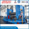 W11S-50X4000 hydraulic 3 roller steel plate bending and rolling machine