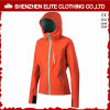 Women 100% Polyester Soft Shell Jacket Ski