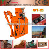Shengya Brand Hydraulic Brick Making Machine Sy1-25 Suitable for Small Business.