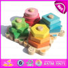 2015 Hot Sale Wooden Geometric Toy Set, New Wooden Geometric Toy Set for Baby, Educational Wooden Geometric Toy Set W13e057