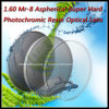 1.60 Mr-8 Aspherical Super Hard Photochromic Resin Optical Lens