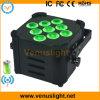 DMX Wireless Battery LED Stage PAR Light (9X12W 6IN1 LEDs)