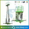 Portable Semi Electric Aerial Work Platform Max Height 14m Vertical Lift Platform for Maintenance