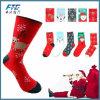Hot Sale Christmas Gift Custom 100% Cotton Christmas Sock