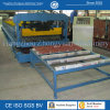 ISO Steel Roof Tile Cold Roll Forming Machine