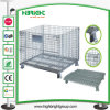 Wire Cage Container for Storage in Supermarket