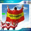 Economy Waterproof Cape Flags, Sports Fans Body Flags (L-NF07F02006)