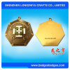 Customized Metal Medallion Color Enamel