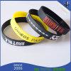 Multicolor Waterproof Custom Deboss Logo Sport Silicone Bracelets