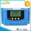 12V/24V 10A Solar Charger Charger Controller USB 5V/2A for Solar System with Ce Cy-K10A