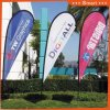 3PCS Custom Teardrop Feather Flag for Outdoor or Event Advertising or Sandbeach Model No.: Qz-010