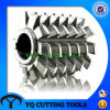 HSS DIN8002b Module Gear Hob Cutter with Tin Coating