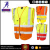 Reflective Safety Clothes with Pocket Vest