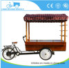 Pedal and Electric Coffee Cart Bike From Factory