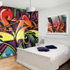 Eco-Friendly High Resolution Inspired Graphics Self Adhesive Wall Murals Printing