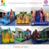 Amusement Park Inflatables Avengers Flame Bouncer Inflatables Slide
