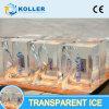 Koller New Design Transparent Block Ice Machine for Sculpture