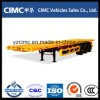 Cimc 3 Axles 40 Feet Flatbed Container Trailer