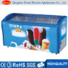 Commercial Freezer Ice Cream Display Freezer Glass Door Deep Freezer
