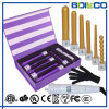 Black Color 5 in 1 Interchangeable Electric Curling Wand