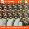 Wall Decorative PVC 3D Wall Paper with High Grade