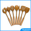 Carved Bamboo Spoon for Natural Color