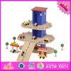 2016 Wholesale Wooden Kids Toy Garage, Best Design Wooden Kids Toy Garage, Top Fashion Kids Toy Garage W04b044