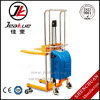 Hot Sale Factory Price Semi-Electric Platform Stacker with Fixed and Adjustable Fork for 1-5t