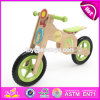 Newest Style Children Cartoon Cat Pattern Wooden Kids Balance Bike for Sale W16c183