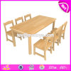 Wholesale High Quality Primary School Wooden Kids Table Chairs for Children Study W08g230