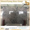 China Ink Painting Big Polished Marble Slab Lavabo/Vase/Black Marble/Brown Marble (YY-MS197)